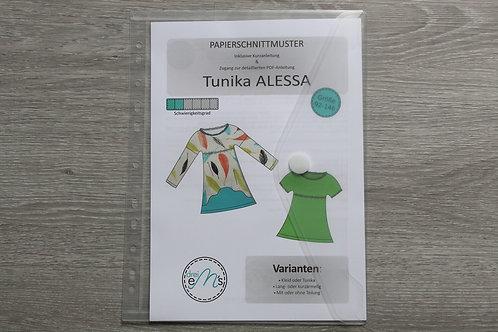 Papierschnittmuster Kleid/ Tunika ALESSA by drei eM´s