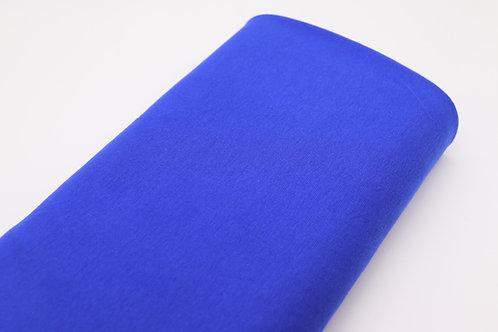 Bündchen Stoff - Blau Uni