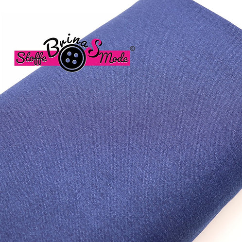 Jogging Denim Stoff -  Blau (Jeans Optik)