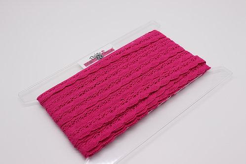 Baumwollspitze - Pink