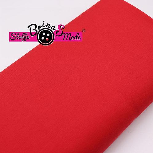 Jersey Stoff - Rot Uni