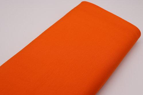 Jersey Stoff - Orange Uni