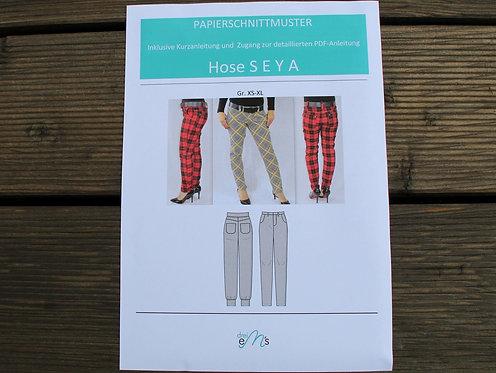 Papierschnittmuster Hose SEYA by drei eM´s