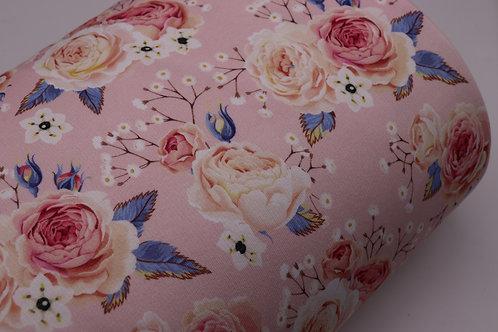 Sweatshirt Stoff - Blume