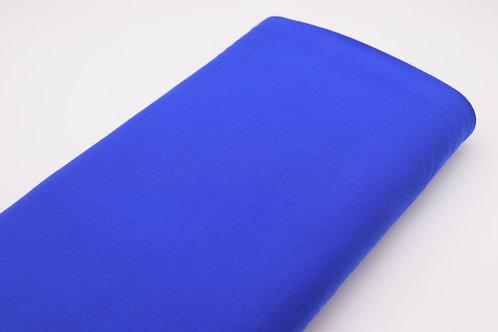 Jersey Stoff - Blau Uni