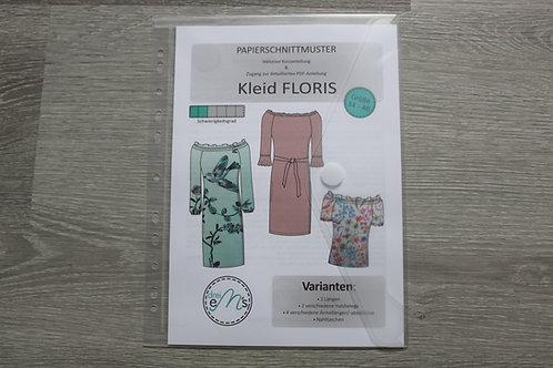 Papierschnittmuster Kleid Bluse FLORIS by drei eM´s