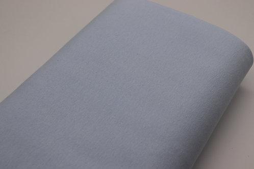 Bündchen Stoff - Hellblau Uni