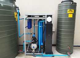 Residential borehole filtration