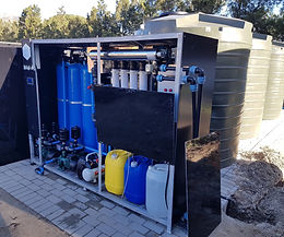 RO and Ultrafiltration package plant