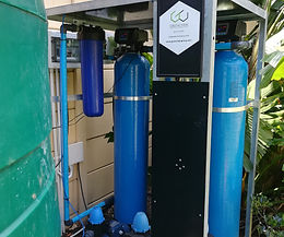 Compact borehole filtration