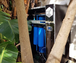 Enclosed borehole to home unit