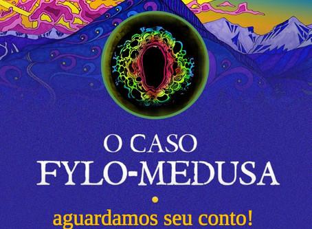 """Edital da antologia """"O caso Fylo-Medusa"""""""