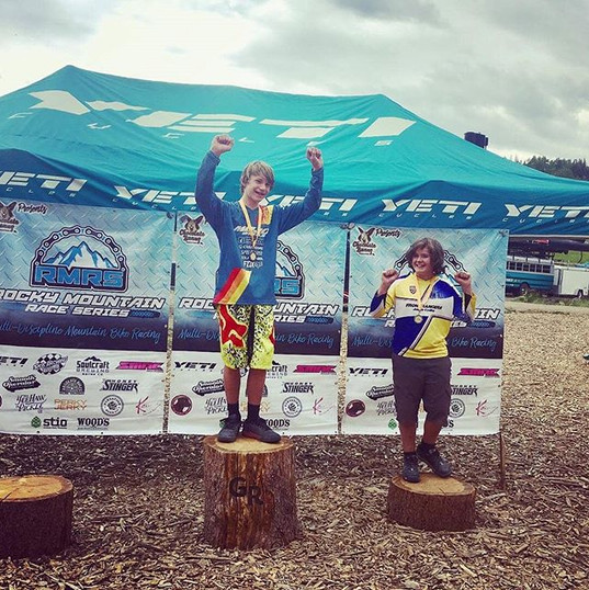 Check out Sam taking 3rd in the Rocky Mo