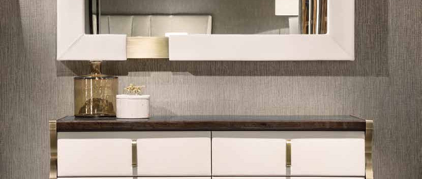 Trilogy Chest of Drawers & Mirro