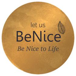 let us be nice logo