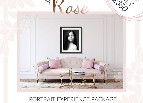 Rose Portrait Experience Package - Value of £700