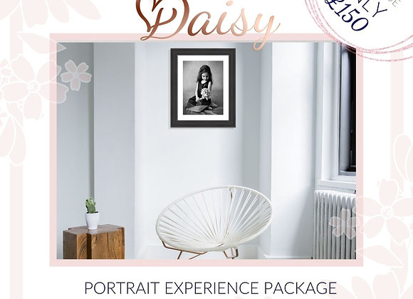 Daisy Portrait Experience Package - Value of £500