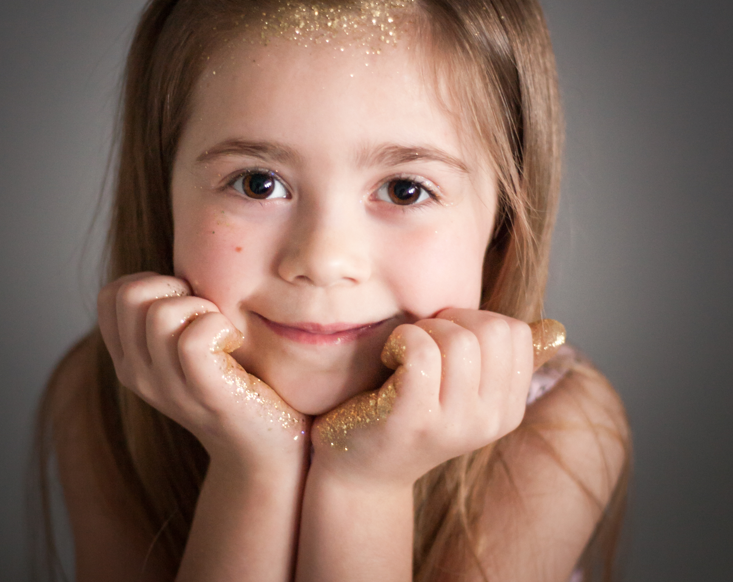 Glitter Portrait Session