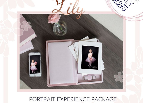Lily Portrait Experience Package - Value of £500