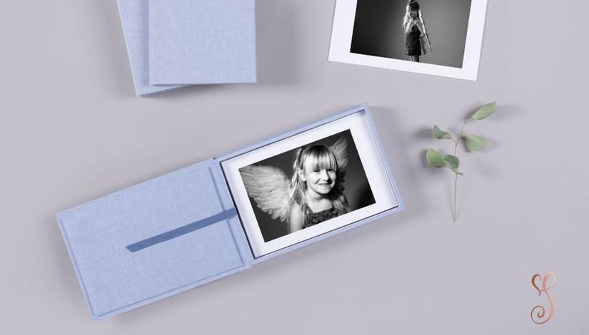 Little Angels Limited Edition Child Portrait Memory Box