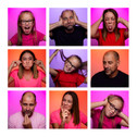 Funky Family Fun Portrait Session