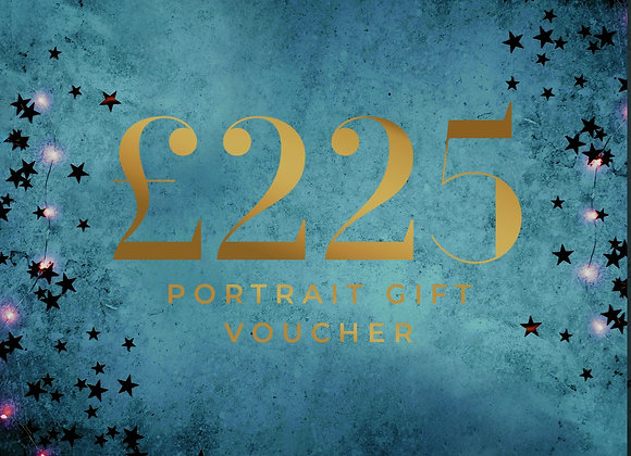 Digital Portrait Experience Gift Voucher