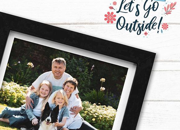 Let's Go Outside Family Session