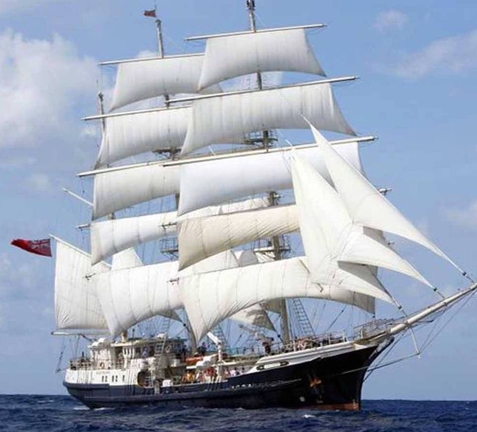 Jubilee Sailing Trust Tall Ship residenc