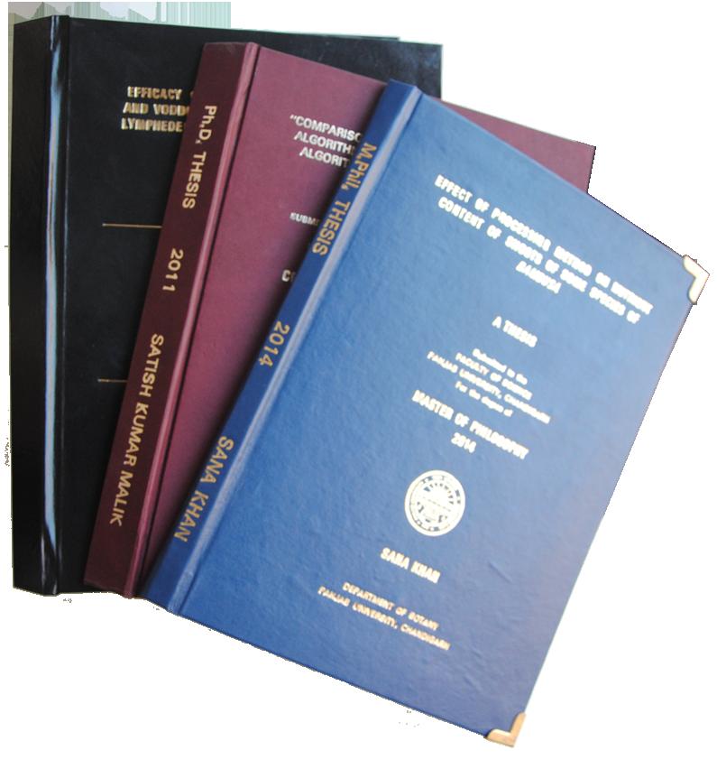 Dissertation & Thesis printing & binding Bristol
