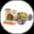 Filtro de ar / filtro de combustível / filtro de diesel