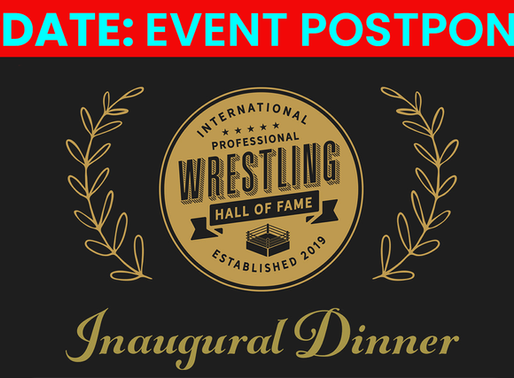 Inaugural Dinner Postponed Due To COVID-19