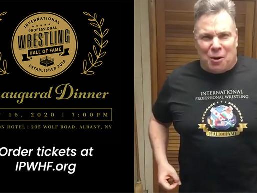 Lanny Poffo to host IPWHF Inaugural Dinner, May 16