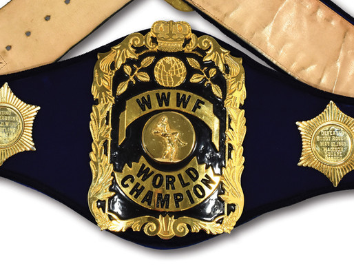 IPWHF to enshrine Bruno Sammartino title belt, 'holy grail' of pro wrestling artifacts