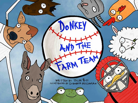 Ross publishes children's book about baseball