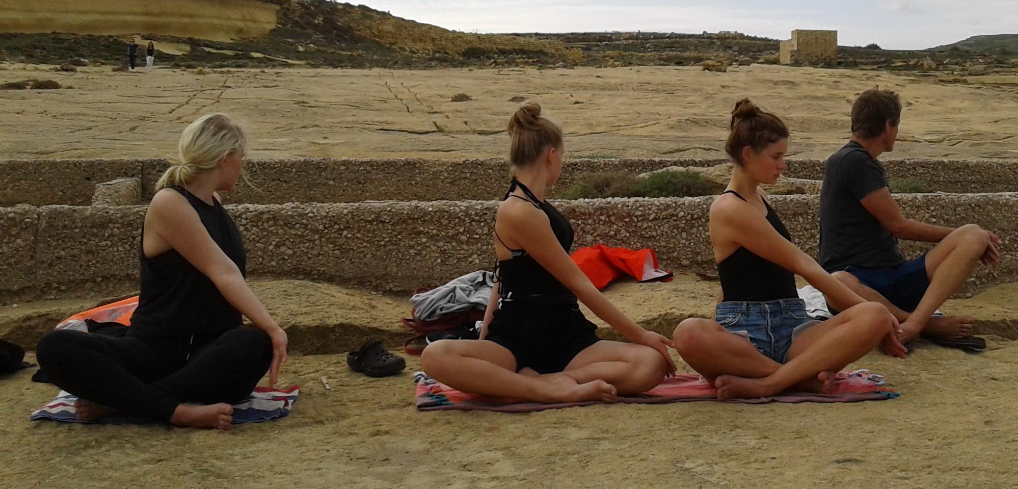 Freediving Yoga Gozo Malta