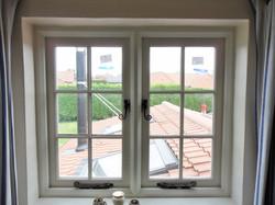 Traditional casement window