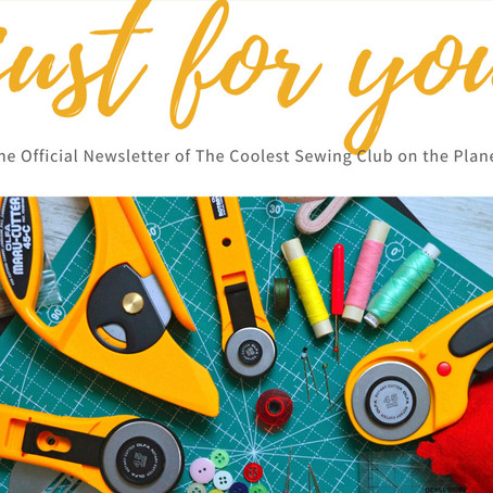 May 2020 Cool Stitches Newsletter