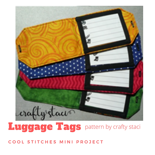 Cool Mini Project: Luggage Tags