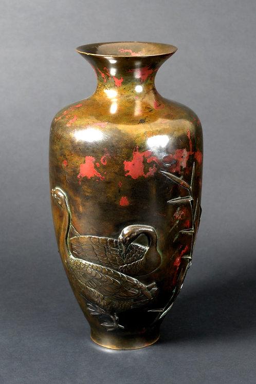 Bronze-Vase,