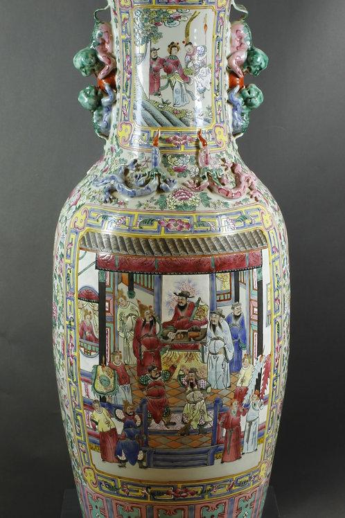 1 Paar grosse Vasen