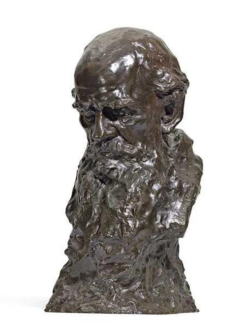 Naum Lvovic Aronson , Tolstoi Büste.