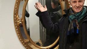 Antiker Spiegel ausgeliefert in Bülach, Schweiz