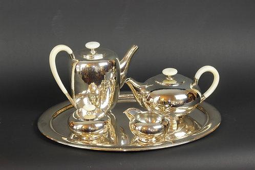 Art-Deco Kaffee-Tee Service
