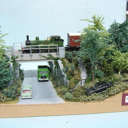 British Diorama  Front View
