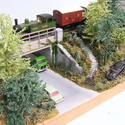 British Diorama Angle View