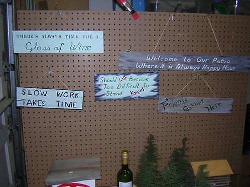 Woodcraft- sign  100