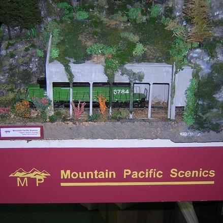 Portal Shed Model PS 100 based on CN portal in Fraser Canyon