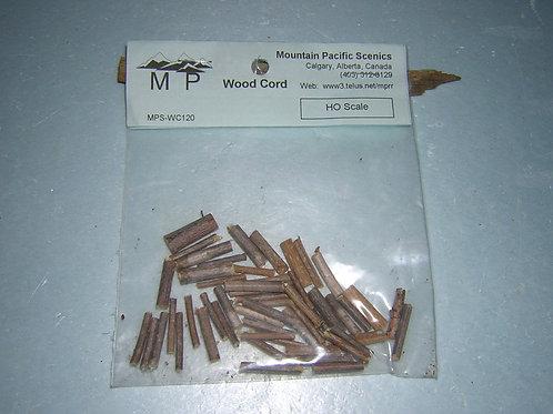 "Firewood HO, 1/8"", (1:100mm) scale , model railroad, dioramas"