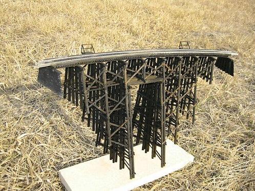 HO  Model 158  Wood Trestle Bridge  Kit