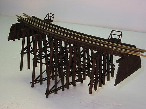 HO Model 104 Wood Trestle Bridge Kit